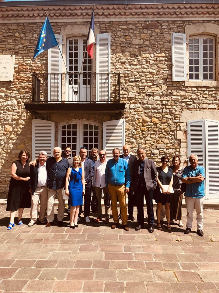 """Le Bureau """"élargi"""" lors de l'Assemblée générale de Juin 2019"""