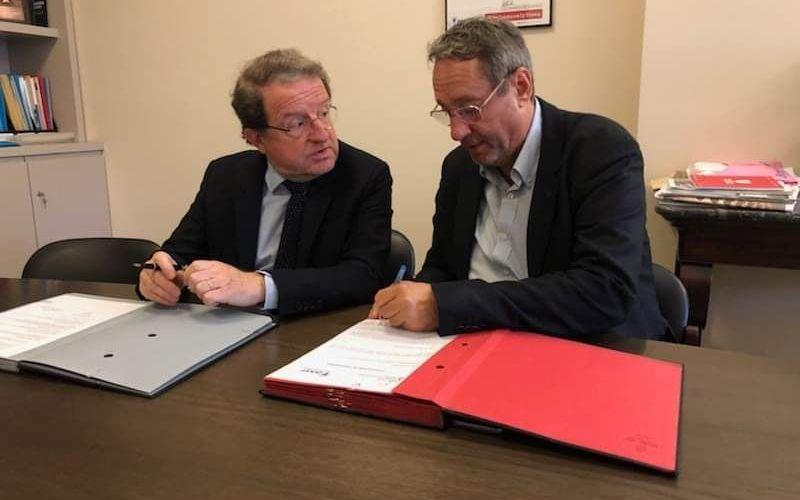Signature d'une convention avec l'AMF