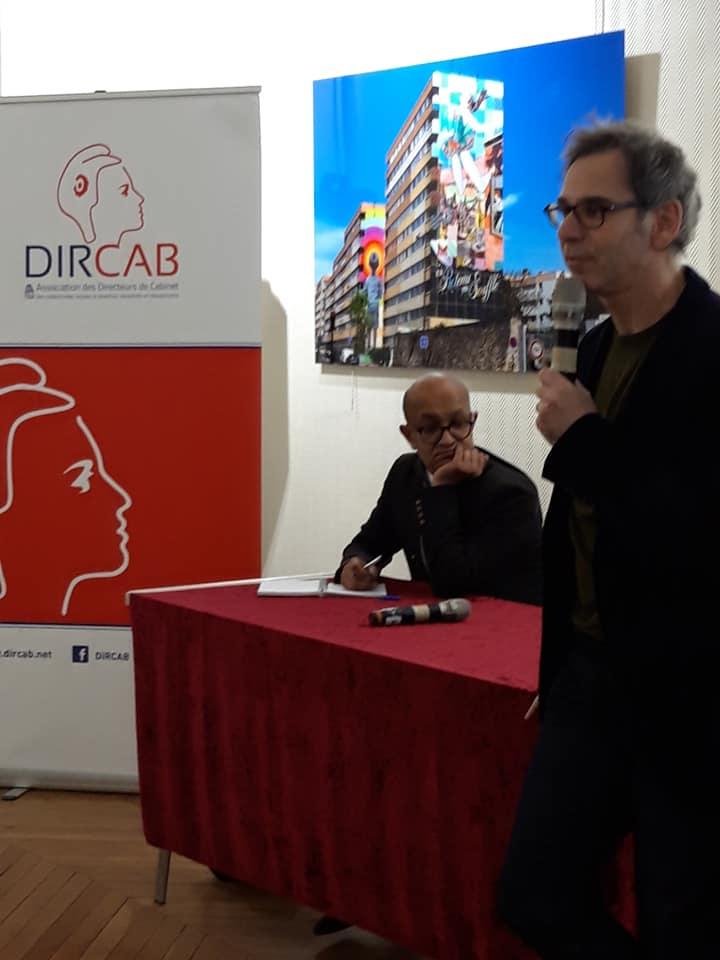 Intervention de Gilles FINCHELSTEIN lors de l'AG Dircab