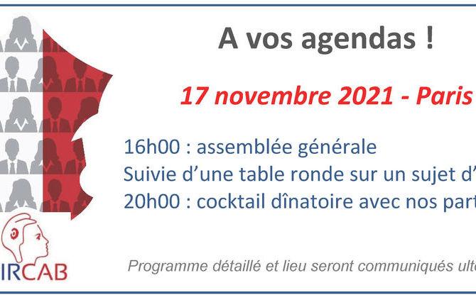 Assemblée générale Dircab 2021